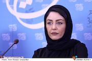 شقایق فراهانی در نشست خبری فیلم سینمایی «دعوتنامه»