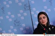 مینا ساداتی در نشست خبری فیلم سینمایی«تابستان داغ»