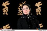 مینا ساداتی در سی و پنجمین جشنواره فیلم فجر