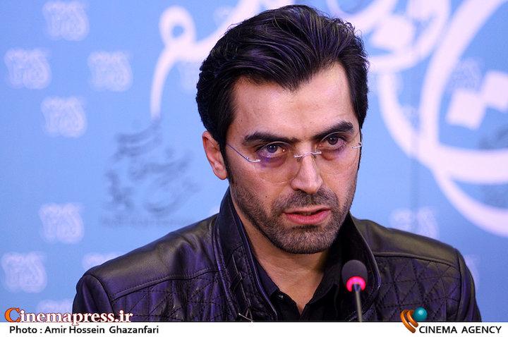 ابراهیم ایرجزاد در نشست خبری فیلم سینمایی«تابستان داغ»