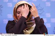 شبنم مقدمی در نشست خبری فیلم سینمایی«آباجان»