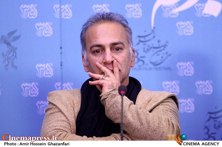 حمیدرضا آذرنگ در نشست خبری فیلم سینمایی«آباجان»