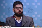 محمد حمزه ای در نشست خبری فیلم سینمایی «آذر»