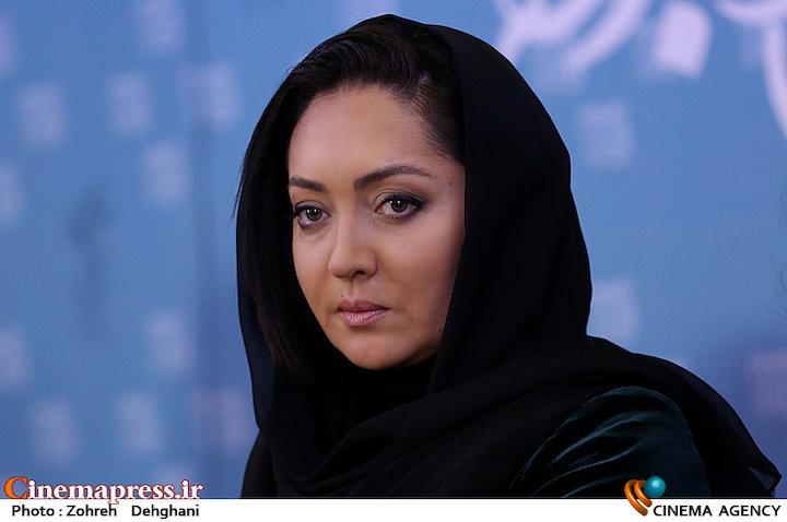 نیکی کریمی در نشست خبری فیلم سینمایی «آذر»