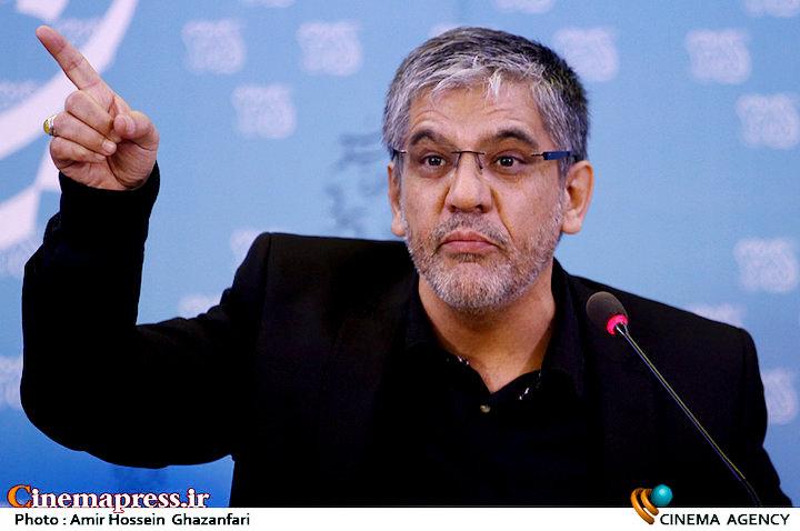 منصور لشکری قوچانی در نشست خبری فیلم سینمایی «قاتل اهلی»