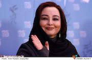 ماهایا پطروسیان در نشست خبری فیلم سینمایی «خفه گی»