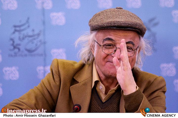 فریدون جیرانی در نشست خبری فیلم سینمایی «خفه گی»