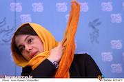 مستانه مهاجر در نشست خبری فیلم سینمایی «اسرافیل»