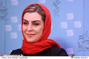 ماه چهره خلیلی در نشست خبری فیلم سینمایی «اشنوگل»