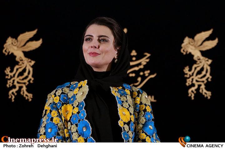 لیلا حاتمی در سی و پنجمین جشنواره فیلم فجر