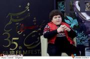 پارسیا شکوری در سی و پنجمین جشنواره فیلم فجر