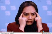 کتایون اعظمی در نشست خبری انیمیشن سینمایی «رهایی از بهشت»