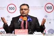 علی قربانی در نشست خبری یازدهمین جشنواره فیلمهای ۱۰۰ ثانیهای