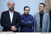 ایوبی و انتظامی و حیدریان در تشییع پیکر مرحوم علی معلم