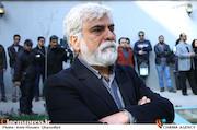 حسین پاکدل در تشییع پیکر مرحوم علی معلم