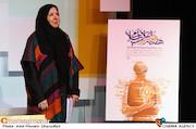 منیژه آرمین در نشست رسانهای هفته هنر انقلاب اسلامی