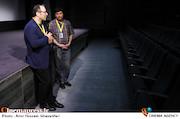 رضا میرکریمی و کیوان کثیریان در سی و پنجمین جشنواره جهانی فیلم فجر