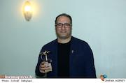 رضا میرکریمی در مراسم اختتامیه سومین جشنواره فیلم کوتاه سما