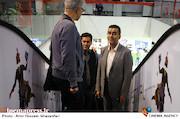 حجت اله ایوبی در سی و پنجمین جشنواره جهانی فیلم فجر