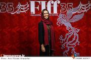 شیوا ابراهیمی در سی و پنجمین جشنواره جهانی فیلم فجر