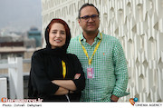 نگار جواهریان و رامبد جوان در سی و پنجمین جشنواره جهانی فیلم فجر