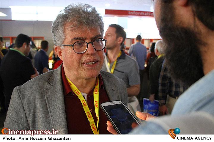 علی اکبر ثقفی در سی و پنجمین جشنواره جهانی فیلم فجر