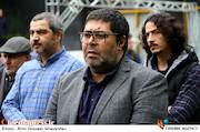 فرهاد اصلانی در مراسم تشییع پیکر مرحوم «نقی سیف جمالی»