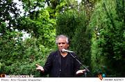 اصغر همت در مراسم تشییع پیکر مرحوم «نقی سیف جمالی»