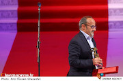 اصغر یوسفی نژاد در اختتامیه سی و پنجمین جشنواره جهانی فیلم فجر