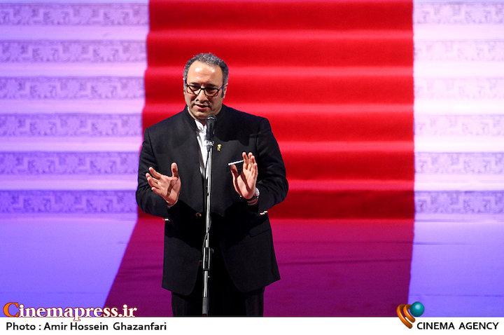 سیدرضا میرکریمی در اختتامیه سی و پنجمین جشنواره جهانی فیلم فجر