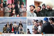 دورهمی دوستانه رفقای قدیمی از نیاوران تا ایروان در هفته فرهنگی به نام ایران!