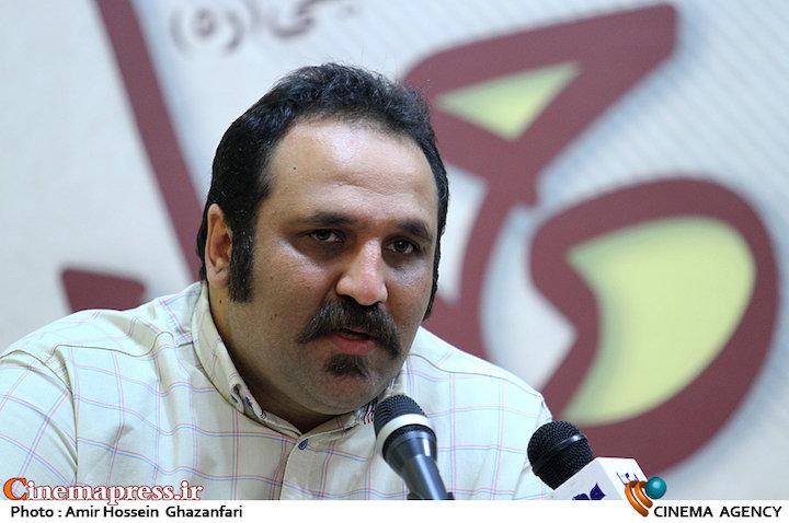 امیرحسین شفیعی در نشست خبری چهارمین همایش سراسری تئاتر مردمی خرداد