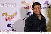 سروش جمشیدی در مراسم اکران خصوصی فیلم سینمایی«اکسیدان»