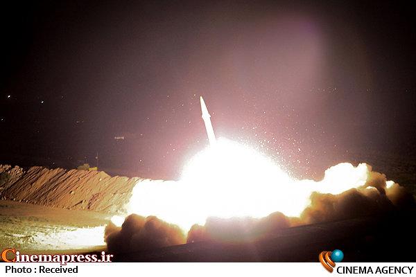 حمله موشکی سپاه به داعش در سوریه