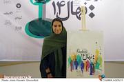 خاتون حیدری فاروقی در نشست خبری چهاردهمین جشنواره بین المللی فیلم کوتاه دانشجویی نهال