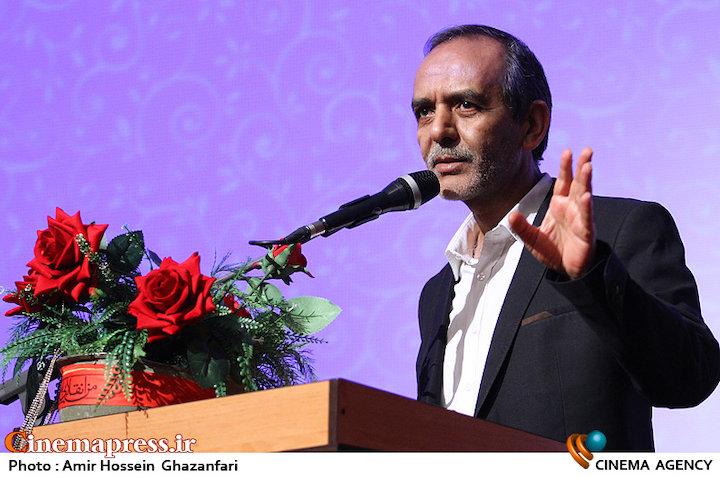 محسن علی اکبری در نشست صمیمی هنرمندان سینمای دفاع مقدس