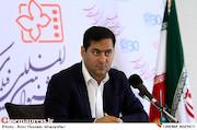 جلیل اکبری صحت در نشست رسانه ای رئیس سازمان سینمایی