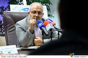 مهدی یک پسر در نشست خبری جشنواره ملی بشری