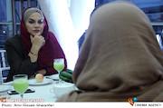 نرگس آبیار در هفتمین شب کانون کارگردانان سینمای ایران