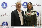 نیکی و مجید مظفری در اکران خصوصی فیلم سینمایی ساعت ۵ عصر