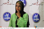 شبنم قلی خانی در اکران خصوصی فیلم سینمایی ساعت ۵ عصر