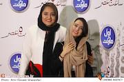 نرگس محمدی و الناز حبیبی اکران خصوصی فیلم سینمایی ساعت ۵ عصر