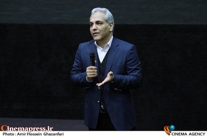 مهران مدیری در اکران خصوصی فیلم سینمایی ساعت ۵ عصر