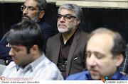محمد علی باشه آهنگر در مراسم ترحیم زنده یاد حبیبالله کاسه ساز
