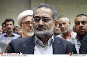 سیدمحمد حسینی در مراسم ترحیم زنده یاد حبیبالله کاسه ساز