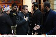 محمود گبرلو در مراسم ترحیم زنده یاد حبیبالله کاسه ساز