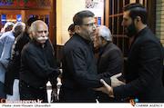 حمدی بهمنی در مراسم ترحیم زنده یاد حبیبالله کاسه ساز