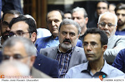 محمدرضا جعفری جلوه در مراسم ترحیم زنده یاد حبیبالله کاسه ساز