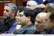 عطاالله سلمانیان در مراسم ترحیم زنده یاد حبیبالله کاسه ساز