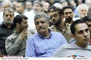 عباس رافعی در مراسم ترحیم زنده یاد حبیبالله کاسه ساز